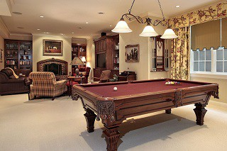 Pool table assembly with perfect leveling in Danville content img3